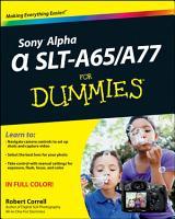 Sony Alpha SLT A65   A77 For Dummies PDF