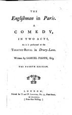 The Englishman in Paris  A Comedy     The Fourth Edition PDF