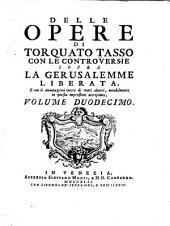 Le opere di Torquato Tasso: Volume 12