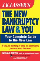 J K  Lasser s The New Bankruptcy Law and You PDF