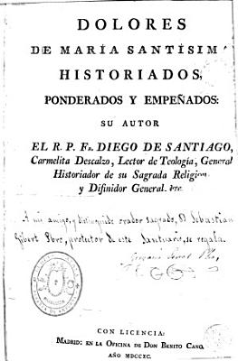 Dolores de Mar  a Sant  sima PDF