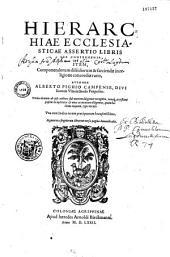 Hierarchiae ecclesiasticae assertio libris sex comprehensa