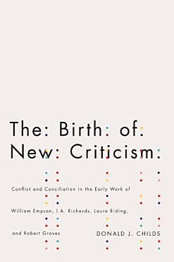 The Birth of New Criticism PDF