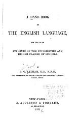 A Hand-book of the English Language