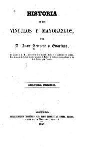 Historia de los vínculos y mayorazgos