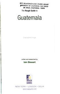 The Rough Guide to Guatemala PDF