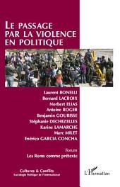Le passage par la violence en politique