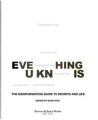 Everything You Know is Wrong PDF
