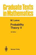 Probability Theory II
