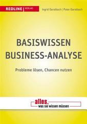Basiswissen Business-Analyse: Probleme lösen, Chancen nutzen