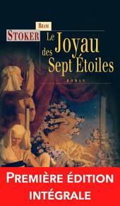 Le Joyau des sept étoiles: Un roman fantastique et angoissant !