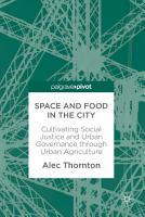 Space and Food in the City PDF