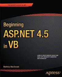 Beginning ASP NET 4 5 in VB PDF