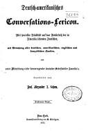 Deutsch amerikanisches conversations lexikon PDF