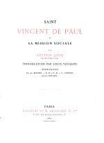 Saint Vincent de Paul Et Sa Mission Sociale