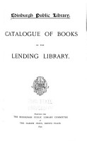 Catalogue of Books in the Lending Library PDF