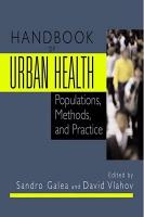 Handbook of Urban Health PDF
