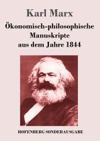 konomisch philosophische Manuskripte aus dem Jahre 1844 PDF