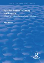 Agrarian Reform in Theory and Practice PDF