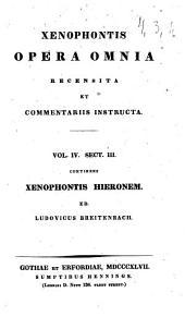 Opera omnia: Continens Xenophontis Hieronem, Τόμοι 3-4