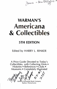 Americana   Collectibles PDF