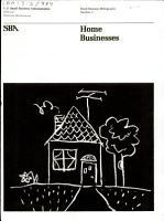 Home Businesses PDF