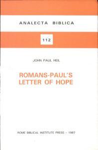 Romans  Paul s Letter of Hope Book