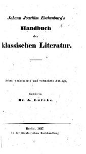 Handbuch, etc. Vierte ... vermehrte Ausgabe