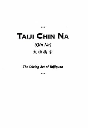 Taiji Chin Na PDF