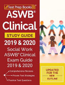 ASWB Clinical Study Guide 2019   2020 Book