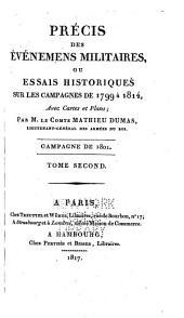 Précis des Évènements militaires ou Essai historique sur les Campagnes de 1799 à 1814: Volume6