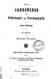 Neue Jahrbücher für Philologie und Pädagogik: Band 76