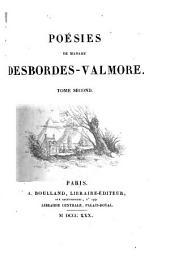 Poésies de Madame Desbordes-Valmore: Volume2