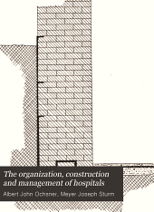 The Organization, construction and management of hospitals