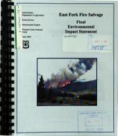 Wasatch-Cache National Forest (N.F.), East Fork Fire Salvage: Environmental Impact Statement