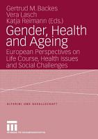 Gender  Health and Ageing PDF