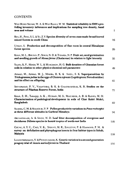 Journal of Tropical Forest Science PDF