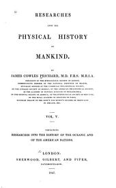 History of the Oceanic and of the American nations. 1847