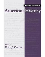Reader s Guide to American History PDF