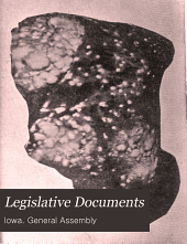Legislative Documents: Volume 3