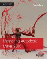 Mastering Autodesk Maya 2016 PDF