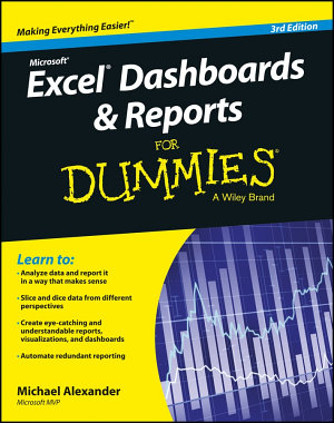 Excel Dashboards   Reports for Dummies PDF