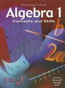 Algebra 1  Grades 9 12