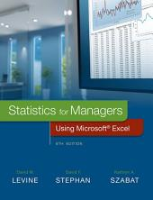 Statistics for Managers Using Microsoft Excel: Edition 8