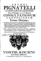 Consultationes canonicae: Volume 10