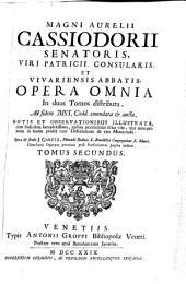 Opera Omnia: In duos Tomos distributa, Volume 2
