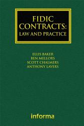 FIDIC Contracts  Law and Practice PDF