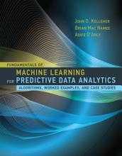 Fundamentals of Machine Learning for Predictive Data Analytics PDF