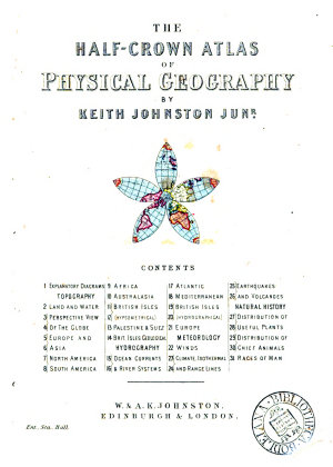 The half crown atlas of physical geography