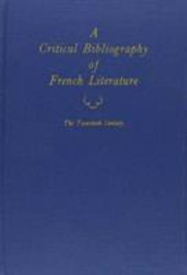 A Critical Bibliography of French Literature PDF